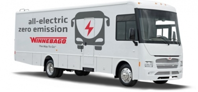 Winnebago Introduces All-Electric Platform