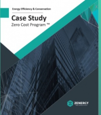 Zenergy Publishes Case Study from its First Zero Cost Customer