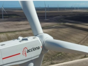 Acciona Puts its Ninth US Wind Farm Into Service in Texas