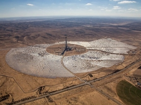 Ashalim's Solar Tower is World's Tallest