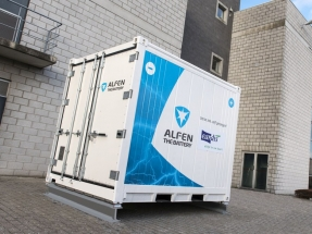 Alfen to Supply Energy Storage System in Belgium