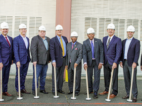 Aries Clean Energy Breaks Ground on New Jersey Biosolids Gasification Facility