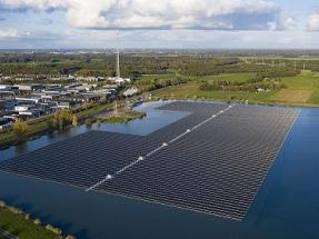 BayWa r.e. Builds Netherland's Largest Floating Solar Farm