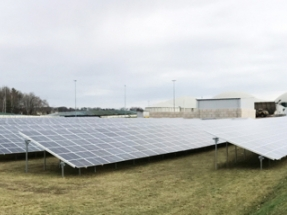 EnviTec Biogas Brings First PV Array Online in Bioenergiepark Forst