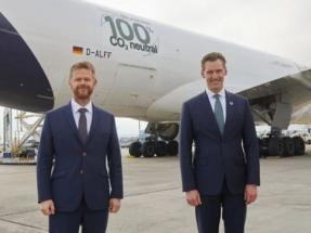Lufthansa Cargo and DB Schenker Start CO2-Neutral Freight Flights