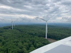RWE's Cassadaga Onshore Wind Farm in Operation