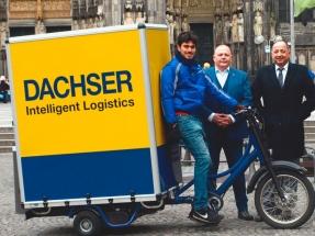 Dachser inicia la entrega de mercancías con bicicletas eléctricas en Alemania