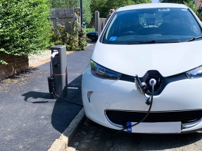 Pop-Up EV Charging Point Being Tested in UK