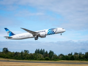 EGYPTAIR Operates World's Longest Boeing 787 Delivery Flight Using Sustainable Fuel