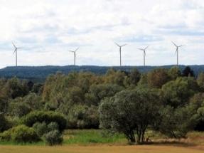 Swedish Wind Farm Sötterfällan Completed