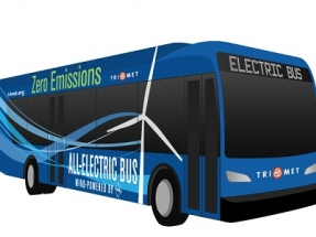 TriMet and PGE Harness the Wind to Power Buses in Portland