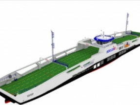 LMG Marin Signs Design Contract for Diesel Electric Hybrid Ferries