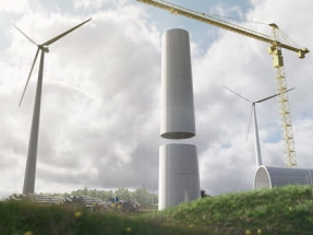 Wooden Tower Set to Reduce Carbon Dioxide Footprint from Future Wind Turbines