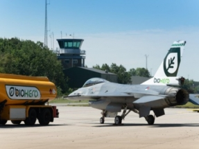 Royal Netherlands Air Force Operating F-16 Fighting Falcons on Sustainable Fuel