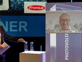 Fronius Winner of the Smarter E Award and Intersolar Award 2020