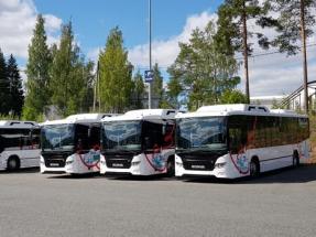 Vekka Group's Biogas-Powered Buses Introduced in Hämeenlinna, Finland