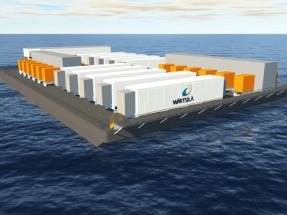 Wärtsilä Receives Order for Floating Energy Storage