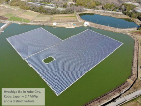 Another Ciel & Terre Floating Solar Plant Constructed in Japan