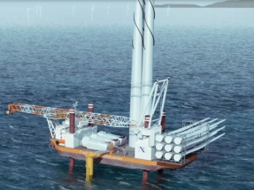 Fred. Olsen Windcarrier Awarded Turbine Installation Contract for Baltic Eagle