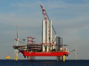 Fred. Olsen Windcarrier Contracted to Finish Trianel Windpark Borkum II Installation