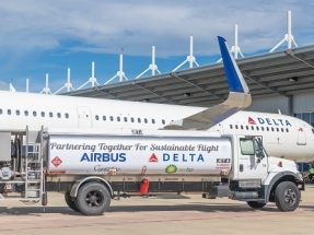 Biofuels and Carbon Offsets Power Delta's First Carbon-Neutral Flights
