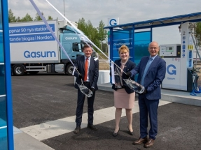 Gasum Opens First Filling Station with LNG and Biogas in Sweden