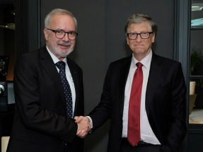 Bill Gates and EIB President Hoyer Agree to Accelerate Support for Climate Action