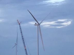 Global Wind Service Completes Installation of Harvest Ridge Wind Farm