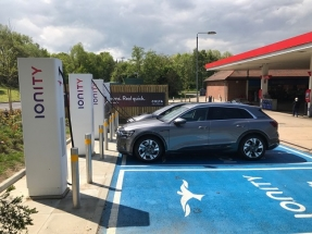 First IONITY High Power Charging Station in UK Launched