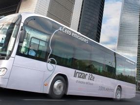 Muchos autobuses eléctricos