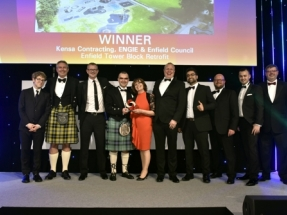 Innovative District Ground Source System Wins Industry 'Oscar'
