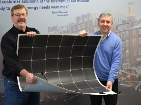 Energy Company Promotes Solar Panels for Use on Petroleum Tanks