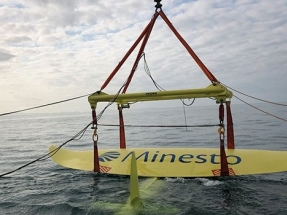 "Minesto Successfully ""Flies"" Marine Energy Kite"