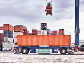 Container Transporters Support Grid Stability as Mobile Power Storage Units