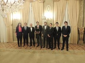 La Real Academia de Ingeniería premia al Grupo de Ingeniería Offshore y Energías Marinas del Instituto de Hidráulica Ambiental de la Universidad de Cantabria