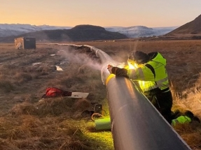 Construction Begins on Geothermal District Heating Pipeline in Iceland