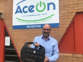 AceOn Awarded £1 Million Grant for Battery Tech Development