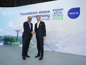 Neste Hosts Foundation Stone Ceremony for Singapore Expansion