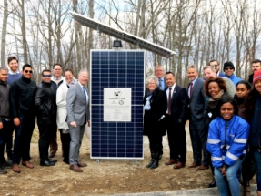 Sterling Municipal Light Department and Origis Energy Dedicate Solar + Storage Project in Massachusetts