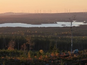 Peikko Delivers Gravity Foundations to Wind Park in Sweden