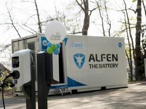 Alfen Supplies Energy Storage Solution for EV Charging Test Site