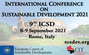 ICSD 2021: 9th International Conference on Sustainable Development