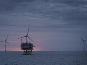 Full Power Reached at Race Bank Wind Farm