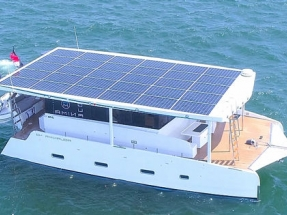 Solar Powered Yacht Proves Unlimited Range Capability