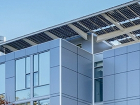 Shopping Mall Solar Install Uses Bifacial PV Panels