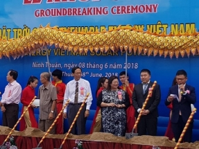 Sunseap Starts Construction of Vietnam's Largest Solar Farm