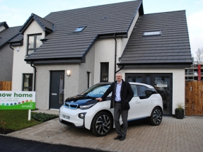 Scottish Developer Will Build All New Homes EV Ready