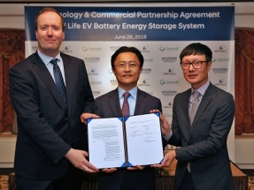 Wärtsilä and Hyundai Motor Group Partner on Energy Storage