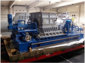 Auction of four unused condensation steam turbine plants