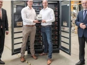 Tesvolt Wins Important Innovation Award For Medium-Sized Companies